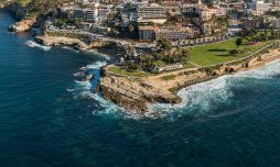 Aerial Photo of Scripps Park and La Jolla Cove