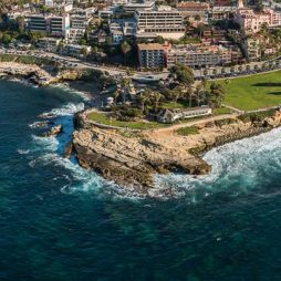 Aerial Photo of Scripps Park and La Jolla Cove